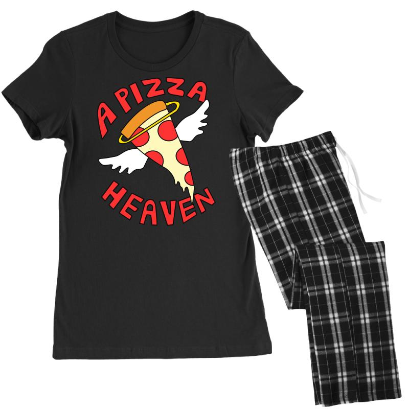 A Pizza Heaven Funny Women's Pajamas Set | Artistshot