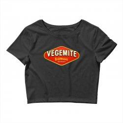 vegemite logo Crop Top | Artistshot