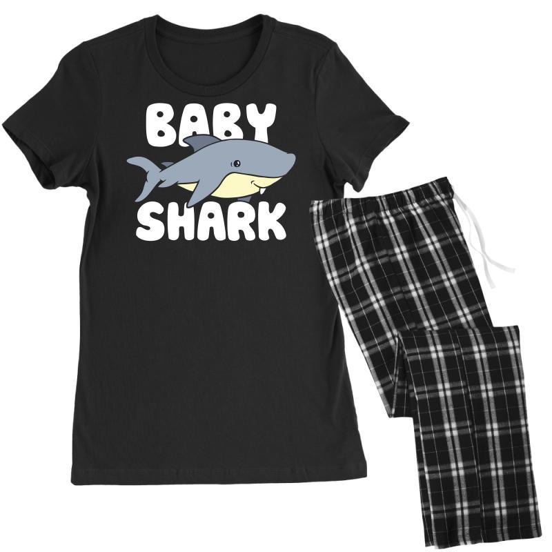 Baby Shark Funny Women's Pajamas Set | Artistshot