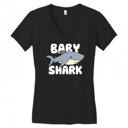 baby shark funny Women's V-Neck T-Shirt | Artistshot