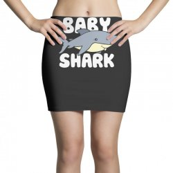 baby shark funny Mini Skirts | Artistshot
