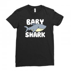 baby shark funny Ladies Fitted T-Shirt | Artistshot