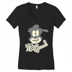 nogreasefacelogo Women's V-Neck T-Shirt | Artistshot