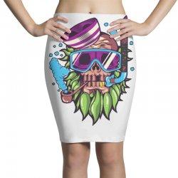 skull snorkle Pencil Skirts | Artistshot