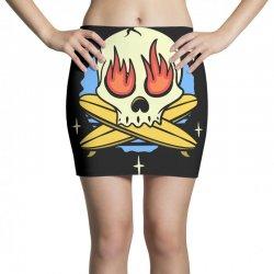 skull surf surfig Mini Skirts | Artistshot