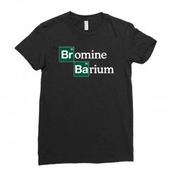 bromine and barium funny science funny Ladies Fitted T-Shirt | Artistshot