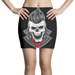 skull with slick hair 1 Mini Skirts | Artistshot