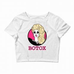 rupaul's botox Crop Top   Artistshot