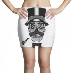 skull with vintage tall head Mini Skirts   Artistshot