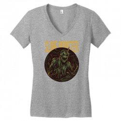 slime monster Women's V-Neck T-Shirt | Artistshot