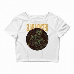 slime monster Crop Top | Artistshot
