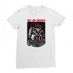 sly death Ladies Fitted T-Shirt | Artistshot