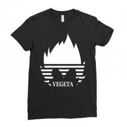 vegeta parody Ladies Fitted T-Shirt | Artistshot