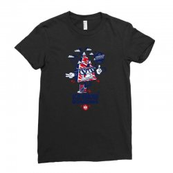 snow boarding Ladies Fitted T-Shirt | Artistshot