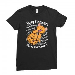 soft flerken Ladies Fitted T-Shirt | Artistshot