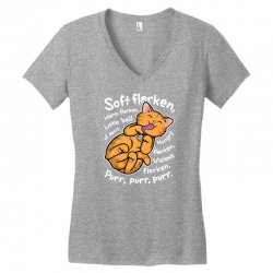 soft flerken Women's V-Neck T-Shirt | Artistshot