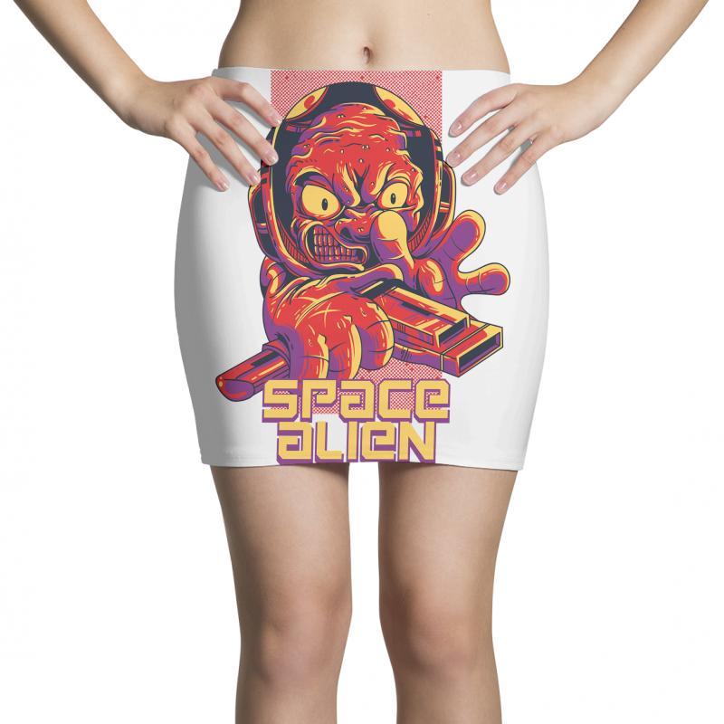 Space Alien Mini Skirts | Artistshot