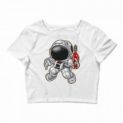 space ranger dance Crop Top | Artistshot
