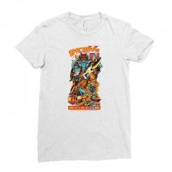 space wars Ladies Fitted T-Shirt   Artistshot