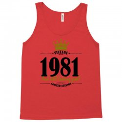 vintage 1981 and still looking good Tank Top | Artistshot