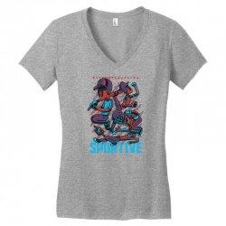 sportive Women's V-Neck T-Shirt   Artistshot