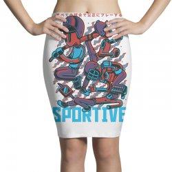 sportive Pencil Skirts   Artistshot