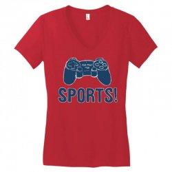 sports Women's V-Neck T-Shirt | Artistshot