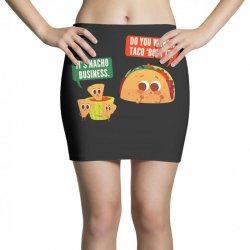 do you wanna taco 'bout it Mini Skirts | Artistshot