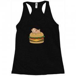 dog and burger Racerback Tank | Artistshot
