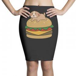dog and burger Pencil Skirts | Artistshot