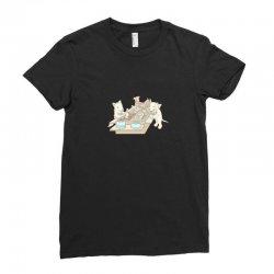 dog buffet Ladies Fitted T-Shirt | Artistshot