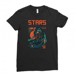 stars traveler Ladies Fitted T-Shirt | Artistshot