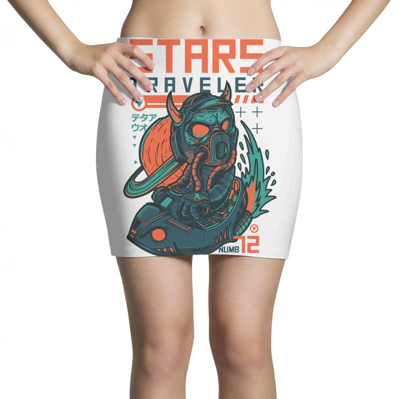Stars Traveler Mini Skirts | Artistshot