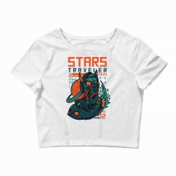 stars traveler Crop Top | Artistshot