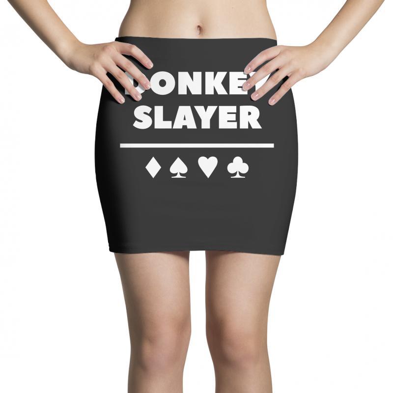 Donkey Slayer Poker Mini Skirts | Artistshot