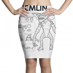 don't feed after midnight Pencil Skirts | Artistshot