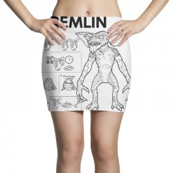 don't feed after midnight Mini Skirts | Artistshot