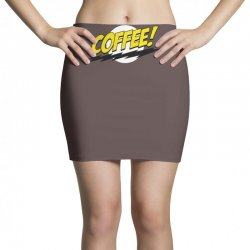 coffee and moon funny Mini Skirts | Artistshot