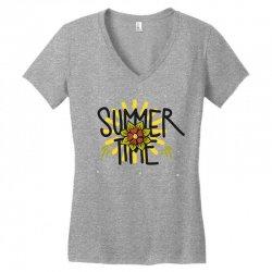 summer time (2) Women's V-Neck T-Shirt   Artistshot
