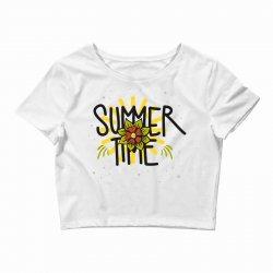 summer time (2) Crop Top   Artistshot