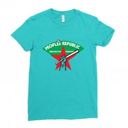 people's republic of burlington softball Ladies Fitted T-Shirt | Artistshot