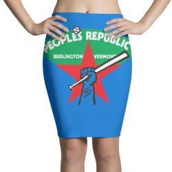 people's republic of burlington softball Pencil Skirts | Artistshot