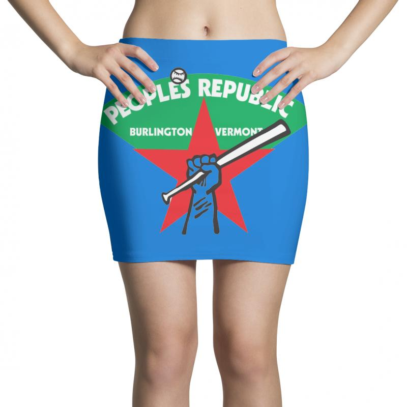 People's Republic Of Burlington Softball Mini Skirts | Artistshot