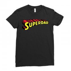 super dad Ladies Fitted T-Shirt | Artistshot
