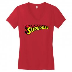 super dad Women's V-Neck T-Shirt | Artistshot