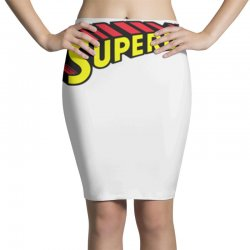 super dad Pencil Skirts | Artistshot