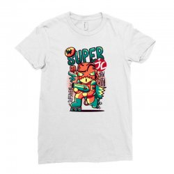 super jc Ladies Fitted T-Shirt   Artistshot