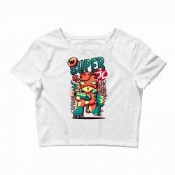 super jc Crop Top   Artistshot