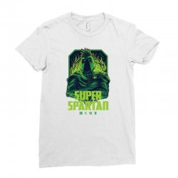 super spartan remastered Ladies Fitted T-Shirt | Artistshot