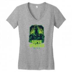 super spartan remastered Women's V-Neck T-Shirt | Artistshot